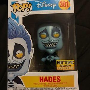 Disney Hades Pop vinyl hot topic exclusive